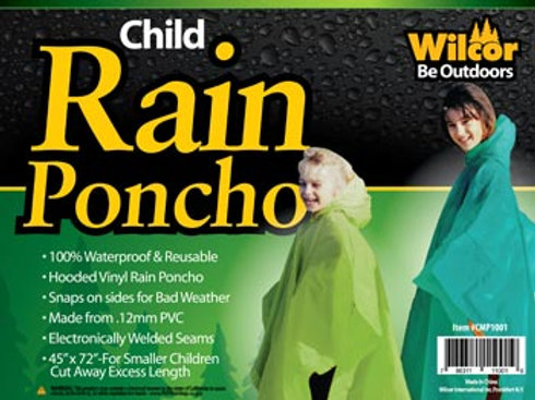 Rain Poncho - Child