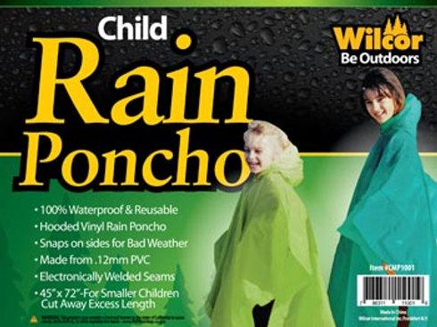 Rain Poncho - Child