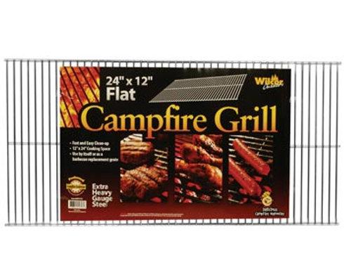 Flat Campfire Grill