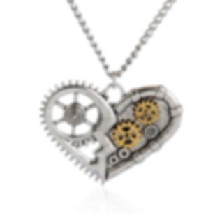 Steampunk Necklace, Steampunk charm