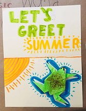 My student artwork AOY summer camp