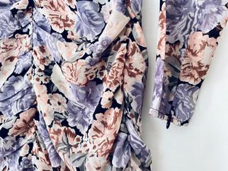 Robe fleurie x H&M