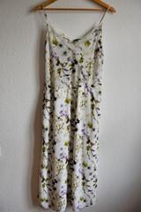 Robe fleurie x Massimo Dutti
