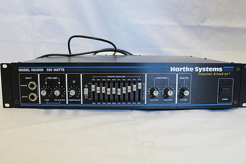 "Hartke Model 3500 ""Transient Attack"" Bass Head"