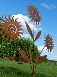 Sun Swirl Sculpture