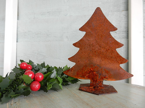 Rustic Metal Christmas Tree -Spruce