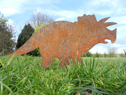 Triceratops Garden Dinosaur