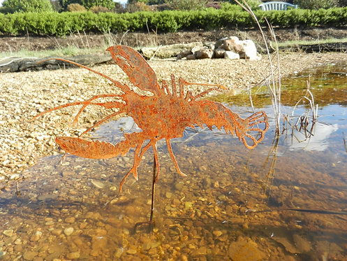 Rusty Metal Lobster
