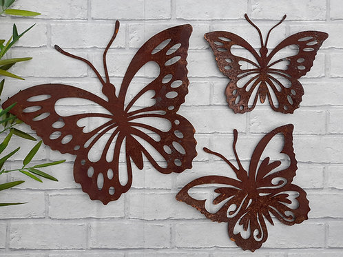 Rusty Metal Butterfly