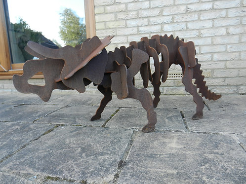 Giant (1.5m) 3D Dinosaur Sculpture - Triceratops