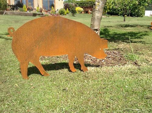 Rusty Metal Piglet