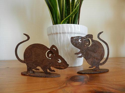 Rusty Metal Mice