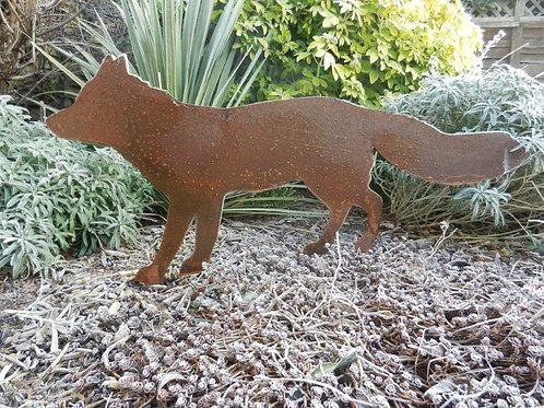 Rusty Metal Fox