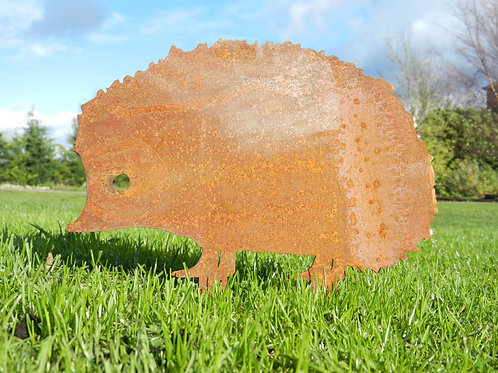Rusty Metal Hedgehog