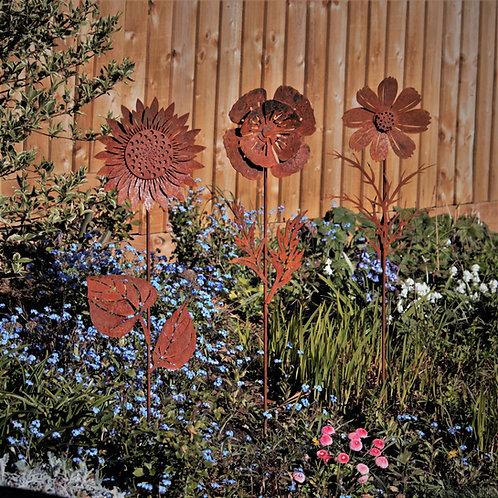 Giant Flower Garden Sculpture