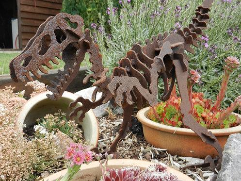 3D Dinosaur Sculpture - Raptor