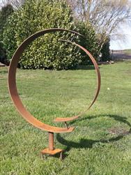 Circular Garden Sculpture