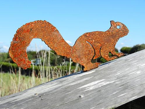 Rusty Metal Squirrel