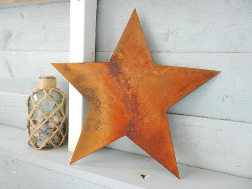 Rusty Metal Star Art