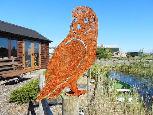Rusty Metal Owl