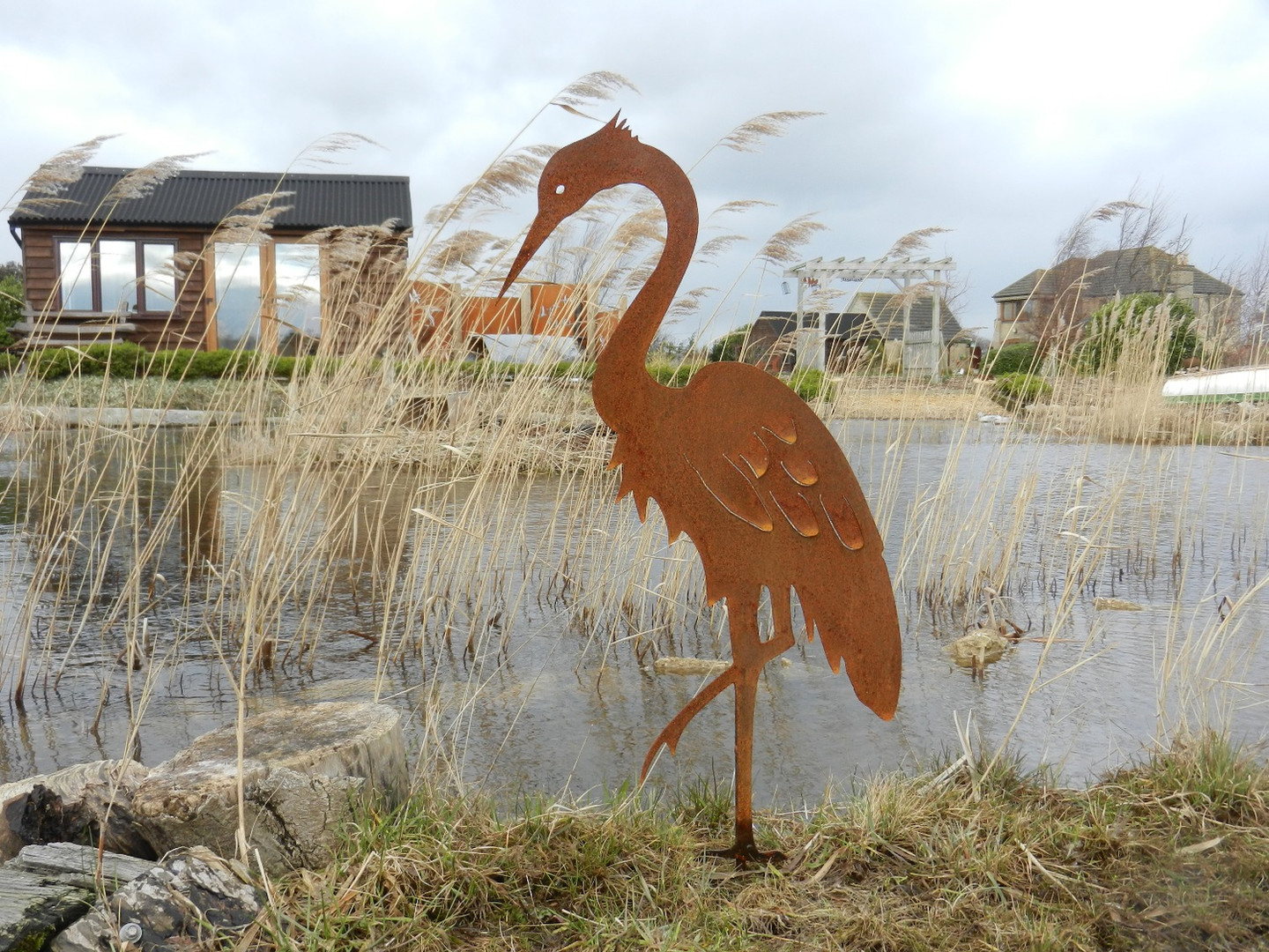 Rusty Heron - Nautical Decor