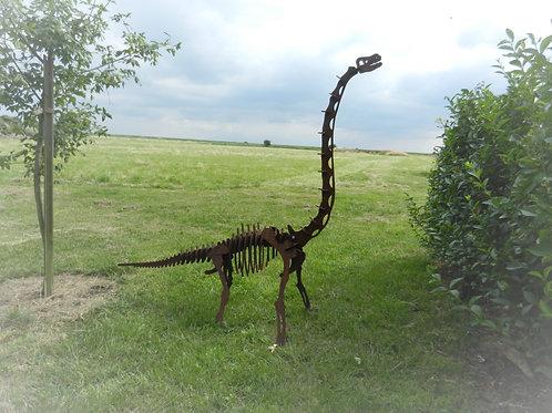 Giant (1.4m) 3D Dinosaur Sculpture -Brachiosaurus