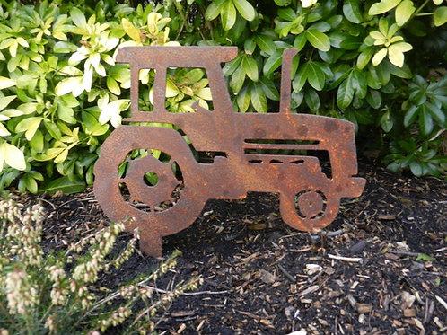 Rusty Metal Tractor