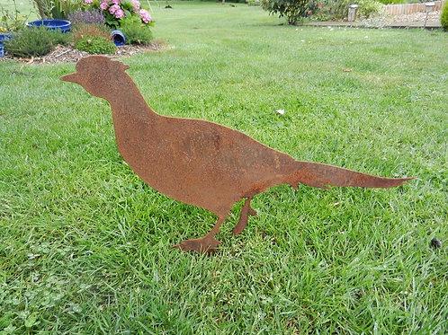 Rusty Metal Pheasant brace - (sold individually)