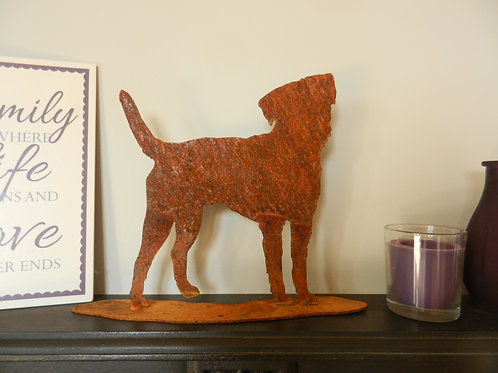 Boarder Terrier Dog Home Decor