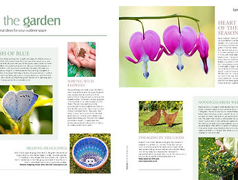 Rusty Rooster featured in Landscale Magazine for their Rusty Metal Chicken Garden Decorations