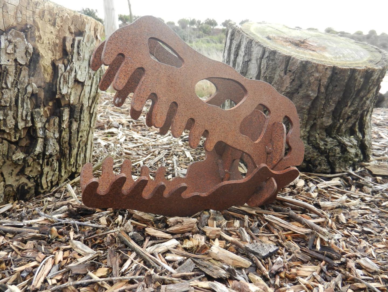 Rusty Metal Dinosaur Gift
