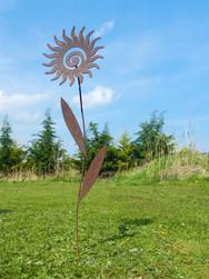 Sun Swirl Flower