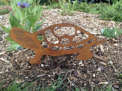 Rusty Metal Tortoise