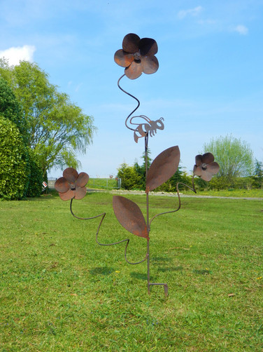 Spring Flowers Sculpture