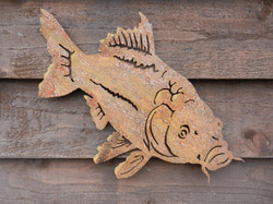 Rusty Metal Carp by Rusty Rooster