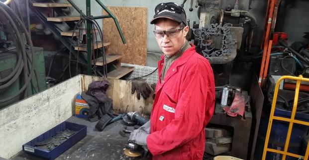 Rusty Rooster Workshop - Steve at Work