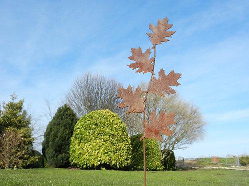 Rusty Metal Leaf / Leaves Sculpture