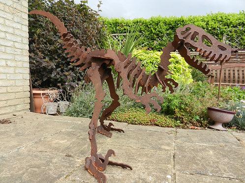 Giant (1m) 3D Dinosaur Sculpture - Raptor