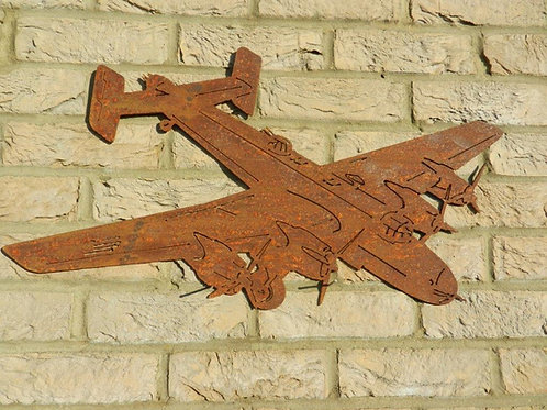 RAF Halifax WW2 plane Wall Art