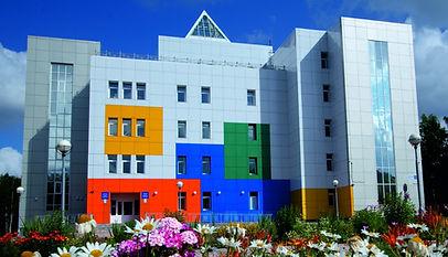 школа искусств сыктывкар, кто построил школу искусств в сыктывкаре, навесной фасад сыктывкар, разноцветный фасад, красивый фасад сыктывкар
