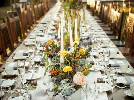 Az esküvői vacsora egy cm szemszögéből