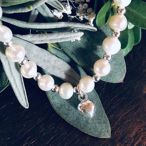 Bracelet Pearl Love