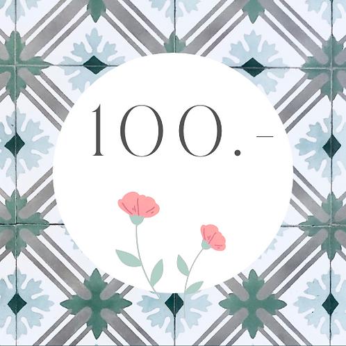 Gutschein 100.-
