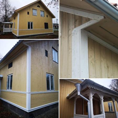 Panel- och fönsterbyte villan i Vivalla