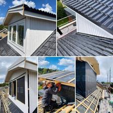 Takbyte och bygge av ny takkupa
