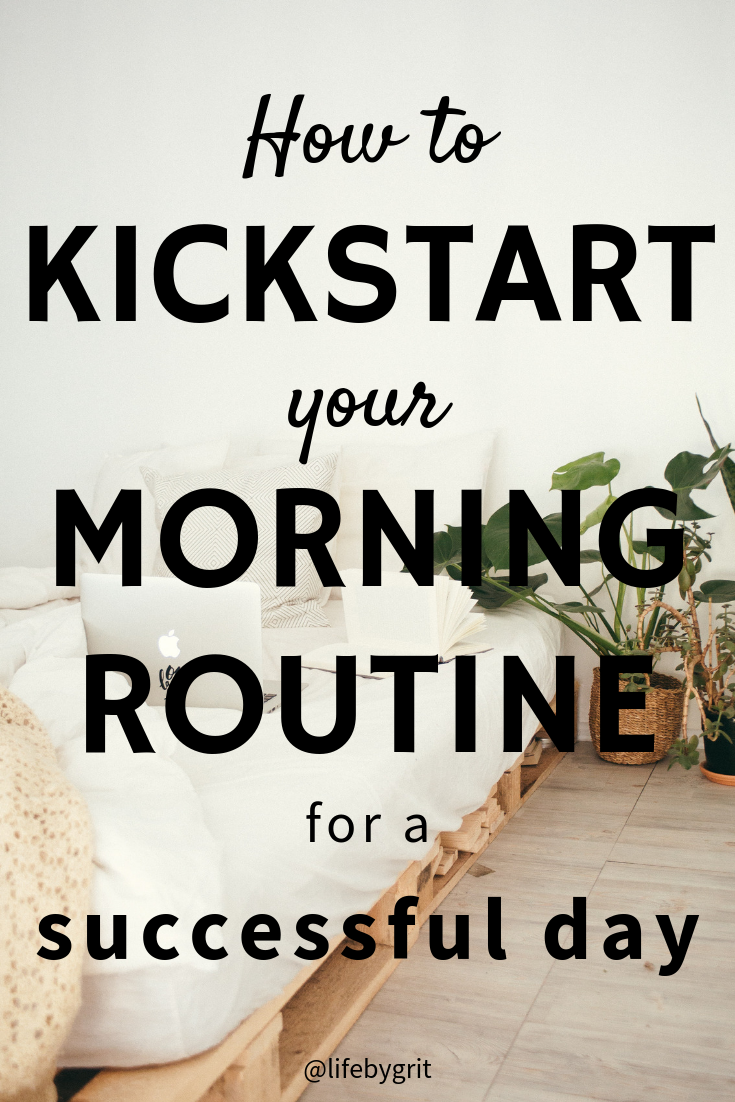 How to kickstart your morning routine for a successful day