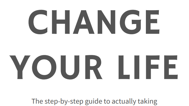 The How to Change Your Life Workbook