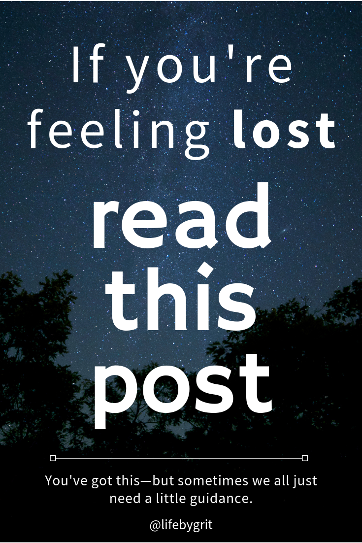 If you're feeling lost and don't know how to get it together, read this post!
