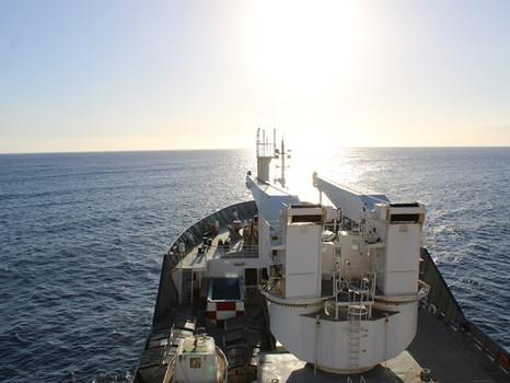 Premiers jours à bord du Marion Dufresne