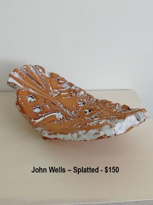 John Wells – Splatted - $150